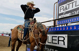Rattler is a proud sponsor of the National High School Rodeo Association